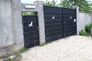 Tierheim Eingang